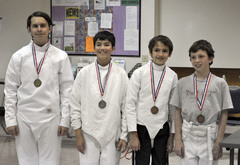 Junior Epee Medalists