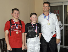 Senior Epee Medalists